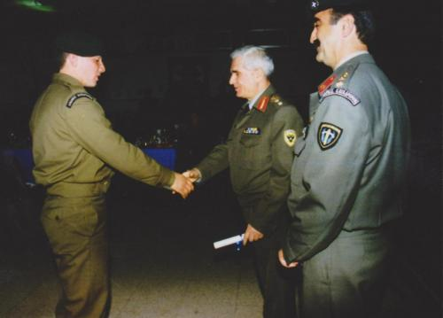 RUSH – Βραβεύεται με Δίπλωμα Ήθους από τον στρατηγό ΓΕΕΘ